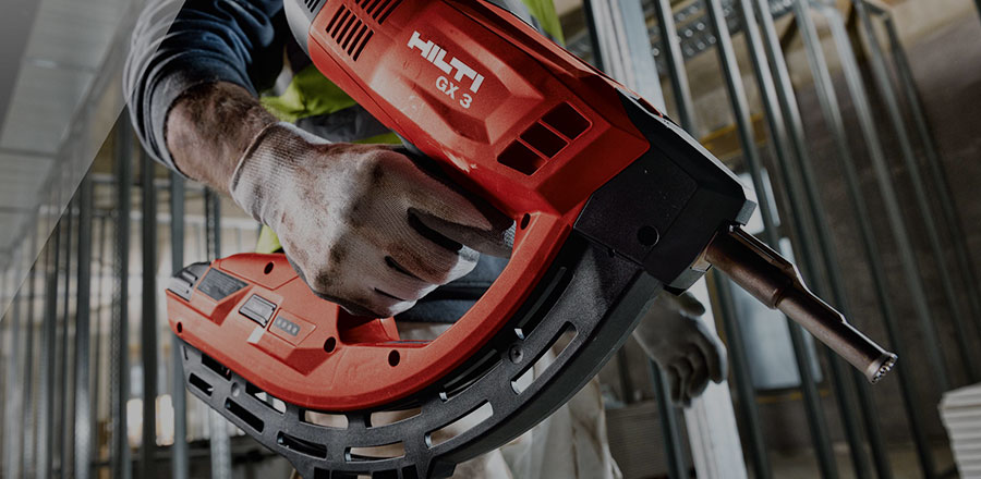 Image of Hilti Power Tools in use, sold by Clares
