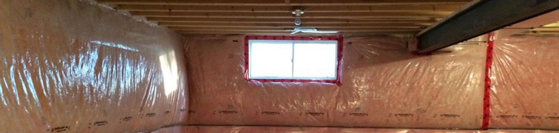 Image of basement blanket insulation, sold by Clares