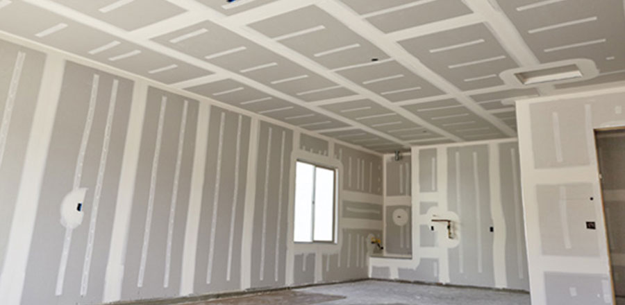 An image of ceiling drywall, part of a product line sold by Clares